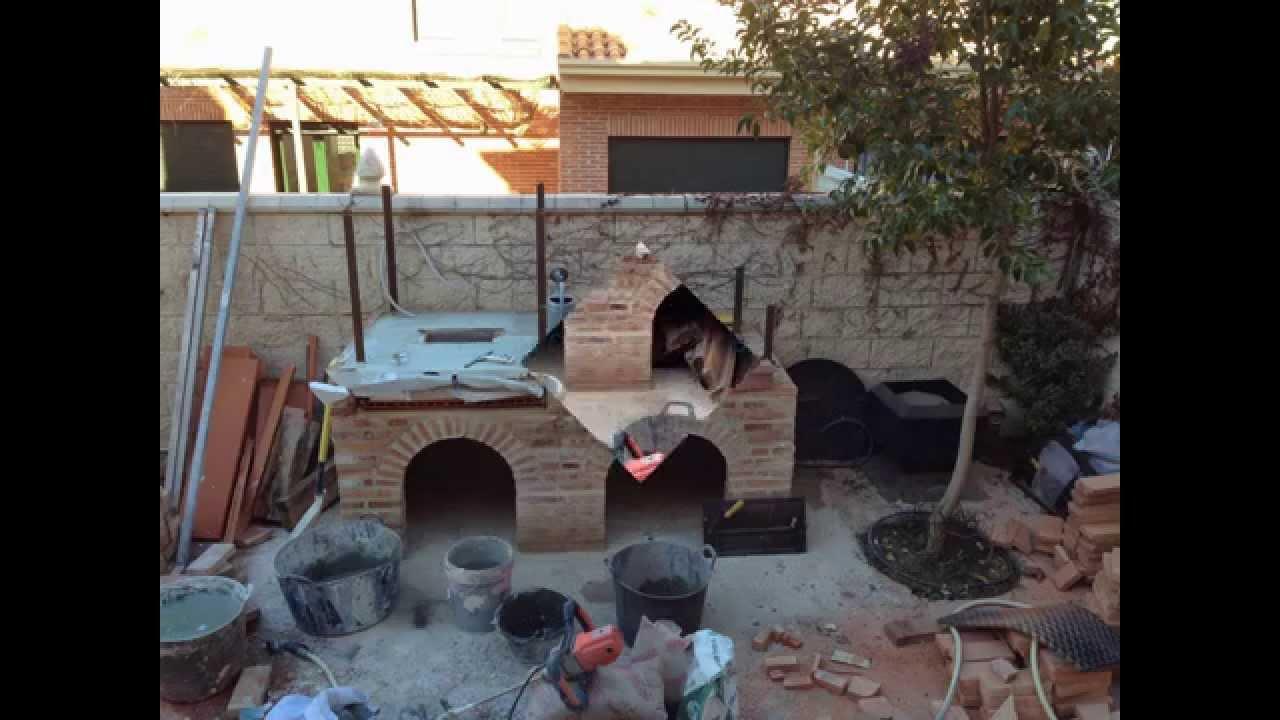 Horno de barro con hornilla v2 0 clay oven with sub oven - Horno de lena con hornilla ...