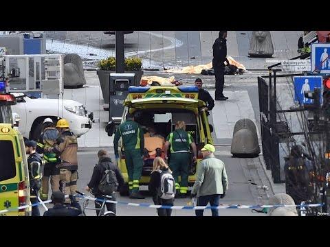 Terror In Sweden Truck Used To Kill 4 Injure Dozens