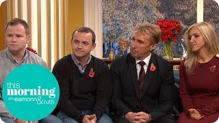 The Speakmans Reunited With Veterans They Helped With PTSD | This Morning
