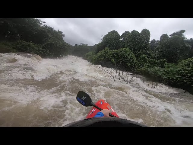 Kayaking in a Monsoon!