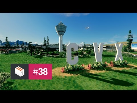 Let's Design Cities Skylines — EP 38 — Massive Details at Cedar Valley Airport