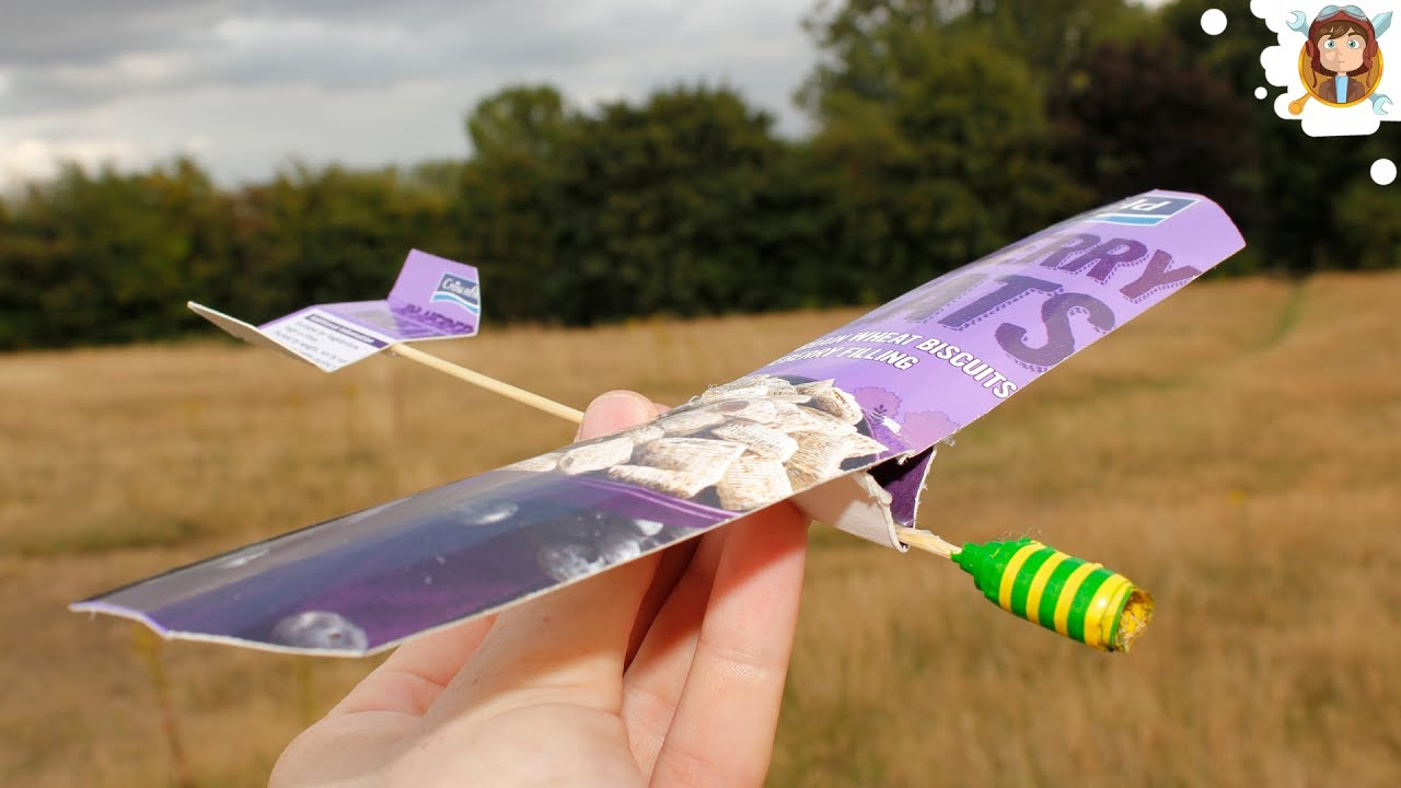 How to make a model aeroplane from cardboard that fly