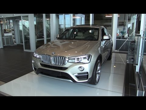 BMW X4 2016 Start Up In Depth Review Interior Exterior