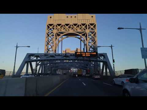 Driving from Uptown Manhattan to Maspeth Queens,New York
