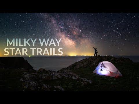 Secret Milky Way Location in Wales (Eta Aquarids Meteor Shower)