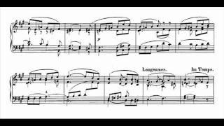 Jörg Demus plays Schumann Album für die Jugend Op.68 - 22. Rundgesang