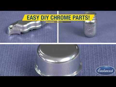 How to Create Chrome Parts at Home - Powder Coating Chrome Powder - Eastwood