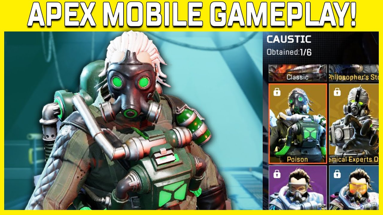 Everything you need to know about Apex Legends Mobile