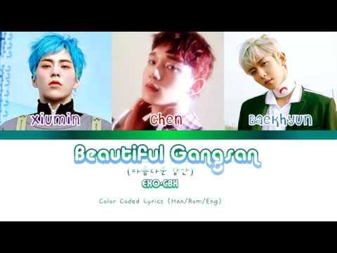 EXO-CBX- Beautiful Gangsan(아름다운 강산)- Color Coded Lyrics(Han/Rom/Eng)
