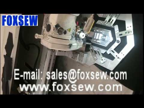 Automatic Pocket Setter Sewing Unit