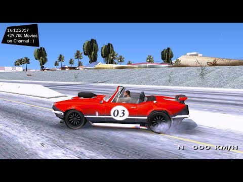 Driver 76 GBi Drop Top Grand Theft Auto San Andreas GTA SA MOD