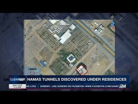 IDF reveals pics of Gaza homes with tunnels built underneath