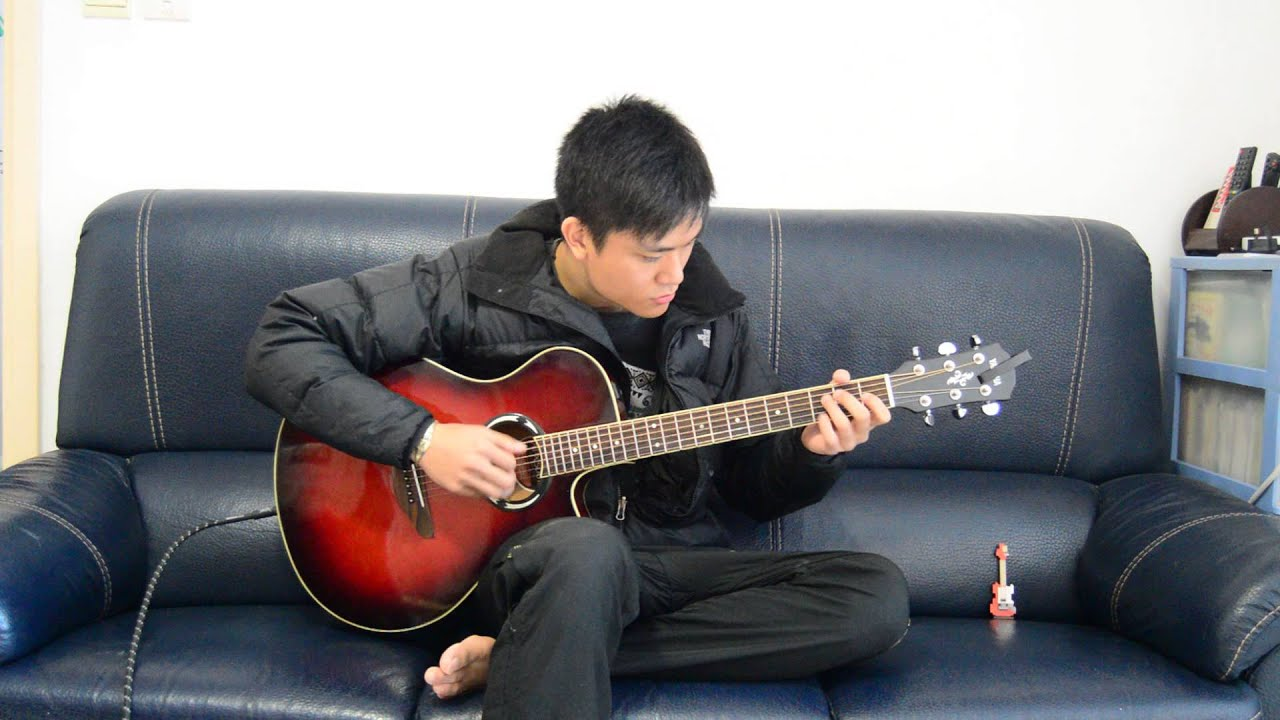 (Beyond) 情人- fingerstyle 全港最好聽 guitar CC Cheung (香港 結他) - YouTube