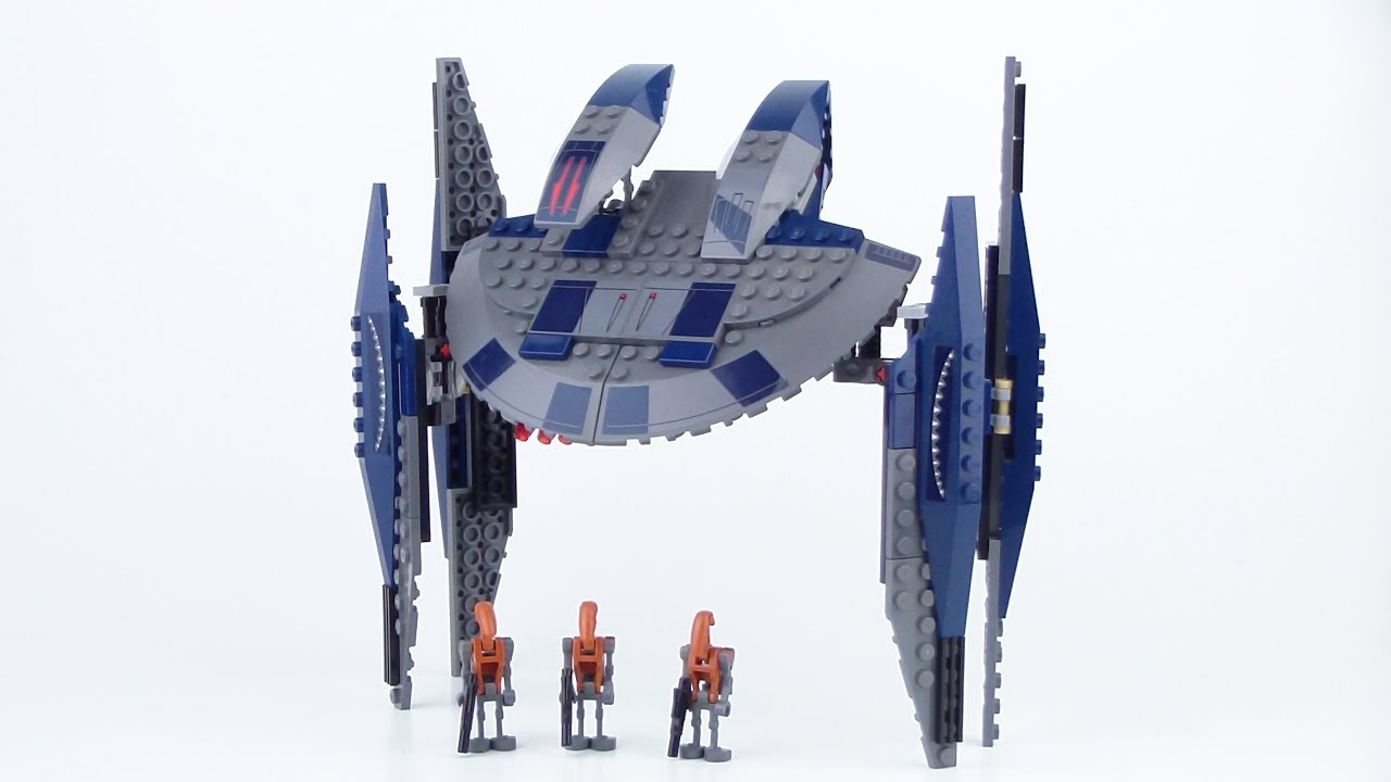 Lego Star Wars Hyena Droid Bomber 8016 Review From 2008 Youtube