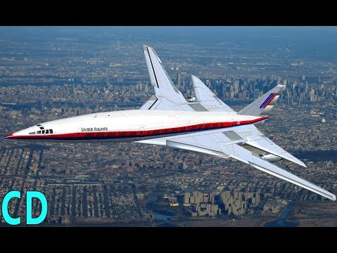 The Forgotten American Concordes - Boeing 2707 - Lockheed L-2000 SST