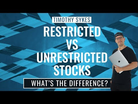 Restricted vs Unrestricted Stocks: What's The Difference?