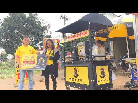 Khai trương xe cafe pha máy Lyon Coffee tại Đức Trọng, Lâm Đồng