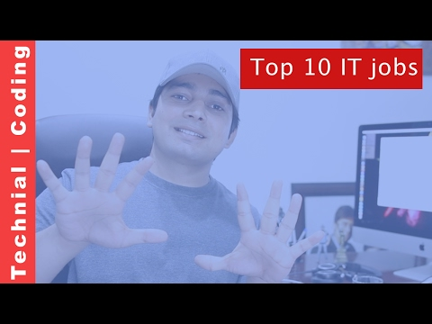 Top 10 Information Technology jobs