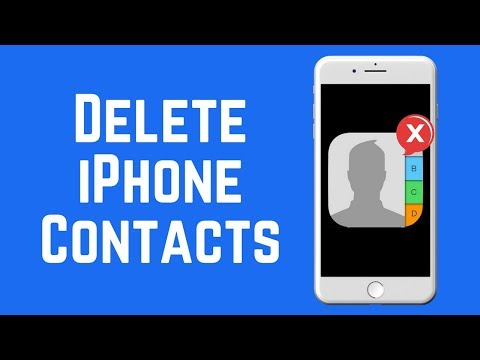 How to Delete One or More Contacts on iPhone 2018