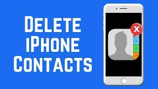 In this tutorial you will learn how to delete all contacts on your iPhone without computer. Thanks f.