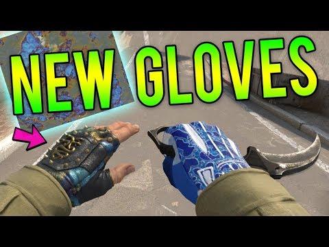 ALL New Gloves Gameplay! (Clutch Case CS:GO Glove Skins)