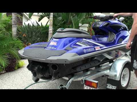 Yamaha FZR Riva Thru Hull system Riva HKS BOV
