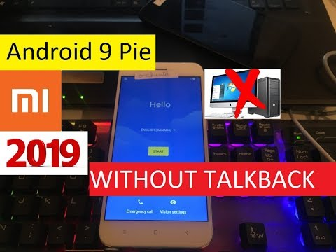 2019  - Xiaomi Mi A1 Unlock FRP Account Lock Android 9 Pie 100%  WITHOUT TALKBACK