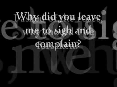 Early One Morning - Nana Mouskouri with lyrics