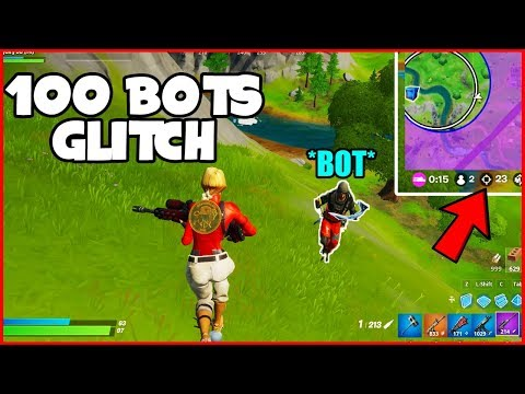 Get 100 BOTS In Your LOBBY For Fortnite Chapter 2... (Fortnite Glitches) *PS4/XBOX/PC*