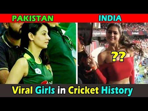 Viral Girls Overnight in Cricket Fame । क्रिकेट मैच में वायरल होनेवाली लड़कियां