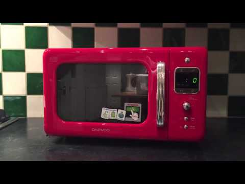Daewoo KOR-7LBKR Microwave Oven Review