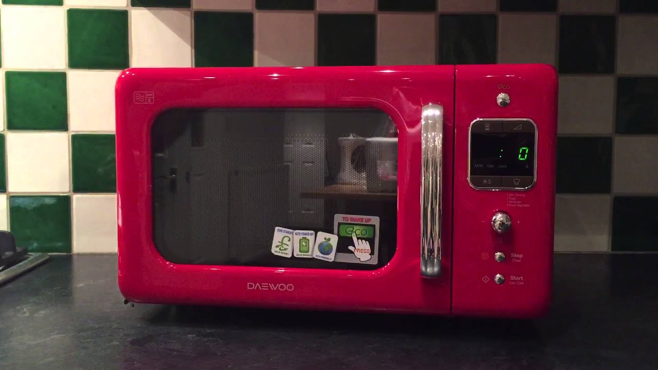 Daewoo KOR-7LBKR Microwave Oven Review - YouTube