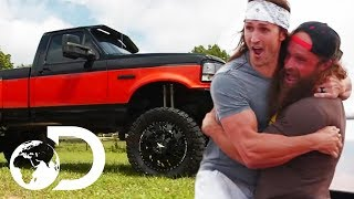 The Diesel Brothers Know How To Do An Amazing Truck Transformation! | Diesel Brothers