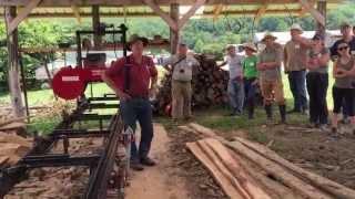 Joel Salatin talks lumber milling