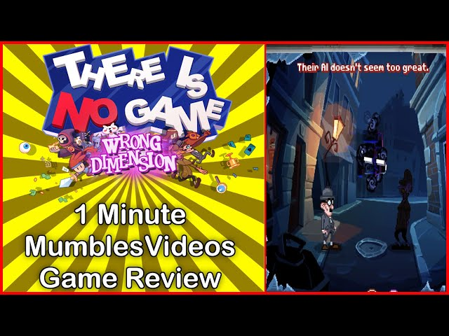 There Is No Game Wrong Dimension 1 Minute Game Review #Shorts