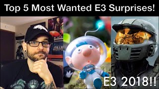 E3 2018 - Top 5 Most Wanted SURPRISE Games! - Ro2R