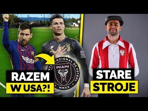 Messi lub Ronaldo zagrają w klubie BECKHAMA! Polska kadra w stylu RETRO!