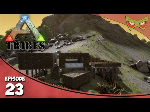 Ark: Tribes - Ep 23 - Catch - up Building! - Let's Play On Pooping Evolved