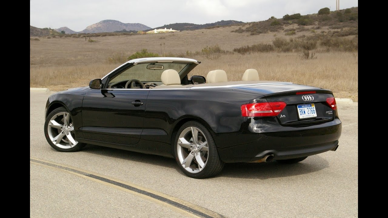 2016 audi a5 convertible youtube. Black Bedroom Furniture Sets. Home Design Ideas