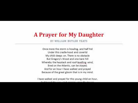 A Prayer for My Daughter by W. B. Yeats, Part-2 | Poetry, Poem, Literature, Kobita,
