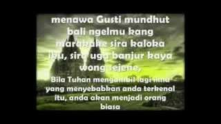 Download lagu Wejangan Bahasa Jawa berikut Artinya MP3