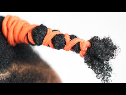How I STRETCH My Natural Hair WITHOUT HEAT using Stretchy Bands | BEFORE & AFTER RESULTS