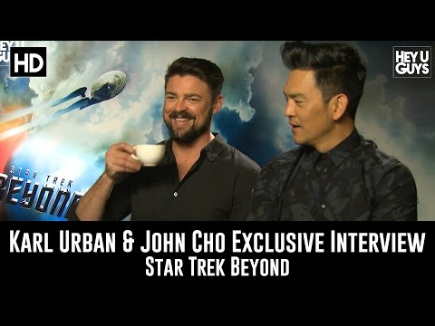 Karl Urban and John Cho Exclusive Interview - Star Trek Beyond