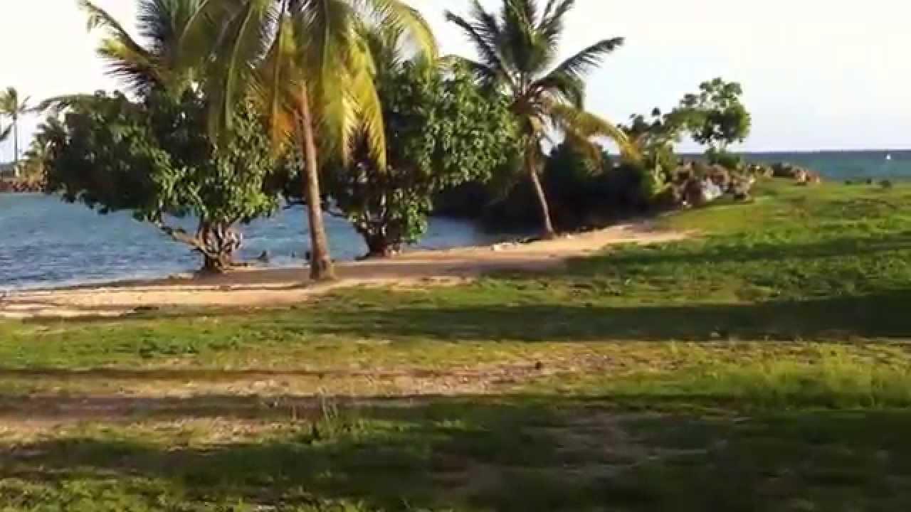 Plage Du Bas Du Fort Le Gosier Guadeloupe Youtube