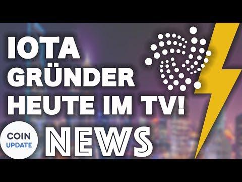 IOTA-Gründer HEUTE im deutschen Fernsehen | Coincheck, Telegram ICO, Trump - News 20.03.2018