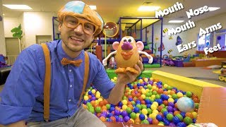 Learn Body Parts with Blippi | Educational Videos for Toddlers