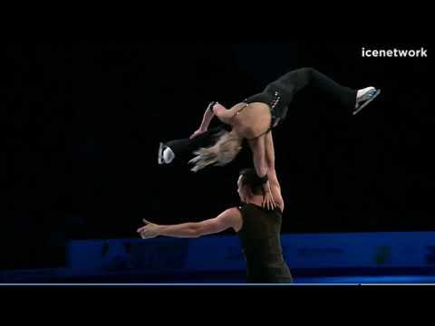 16 Alexa Scimeca-Knierim & Chris Knierim - 2018 US Pairs Champion Nationals Gala Exhibition NC