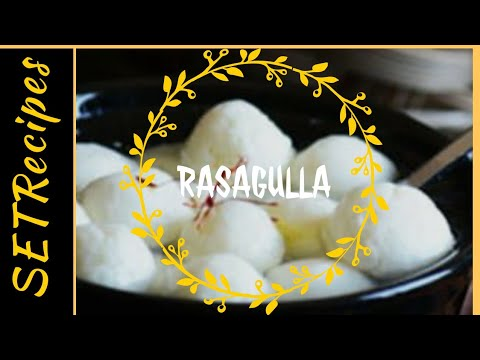 Rasagulla|Bengali Sweet Recipe|Dessert|Homemade|English Version