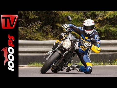 Suzuki SV650 Test 2016 | Motorrad Quartett | Action, Onboard, Details