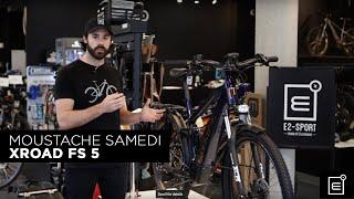 eBike Review: Velo Electrique Moustache Samedi XROAD FS 5 // E2 Sport Montreal